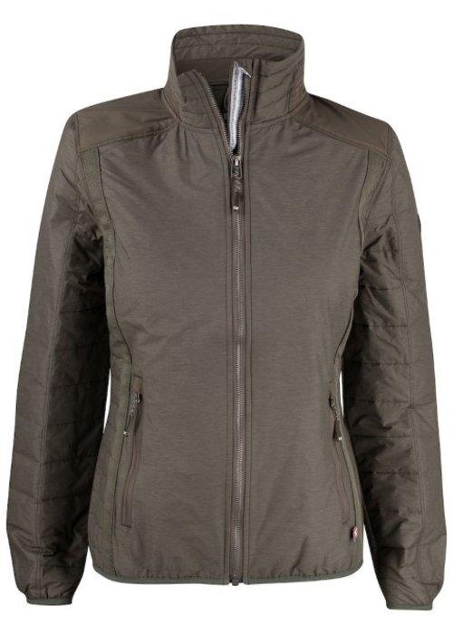 Cutter & Buck Packwood Dames Jacket Olijf Groen
