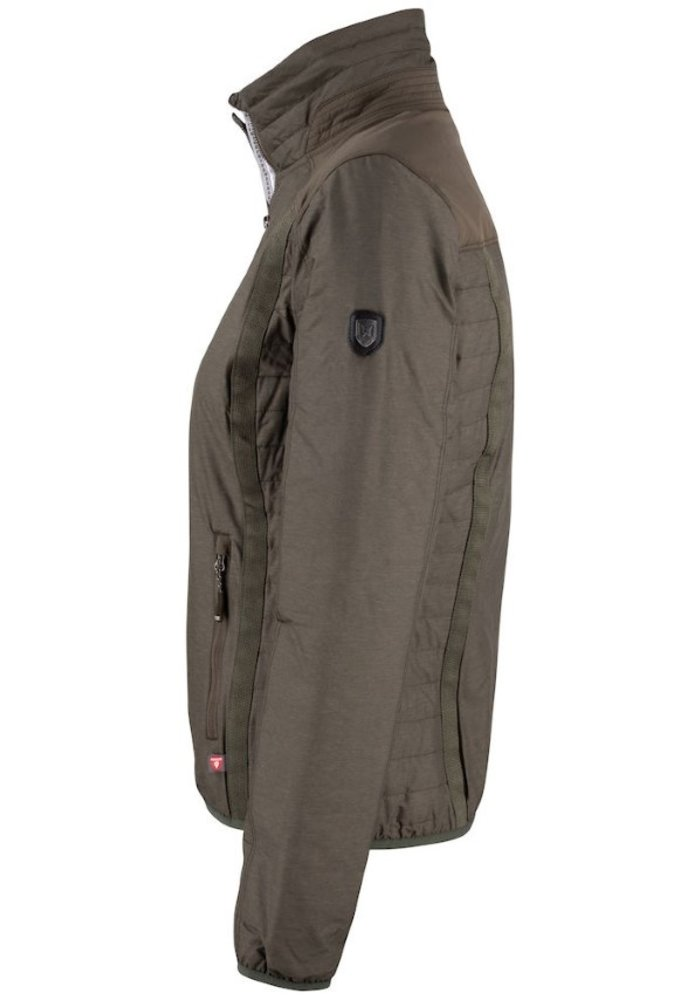 Packwood Dames Jacket Olijf Groen