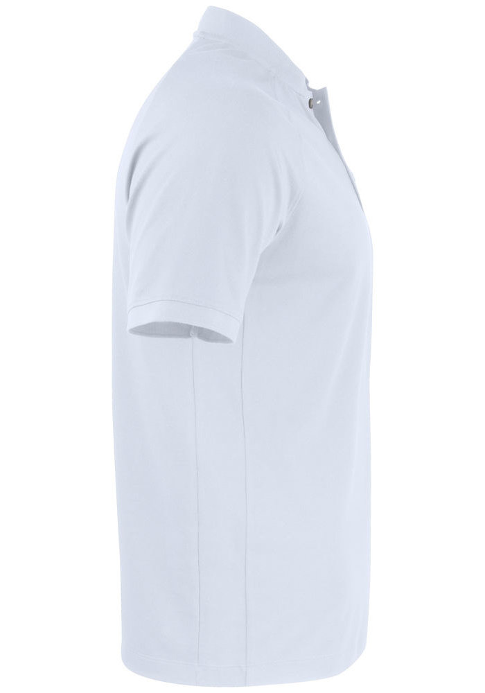 Advantage Stand-Up Collar Polo Wit