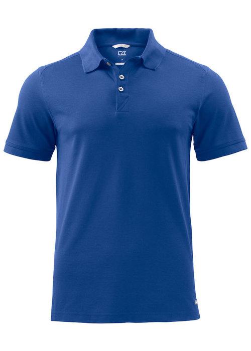 Cutter & Buck Advantage Heren Polo Blauw