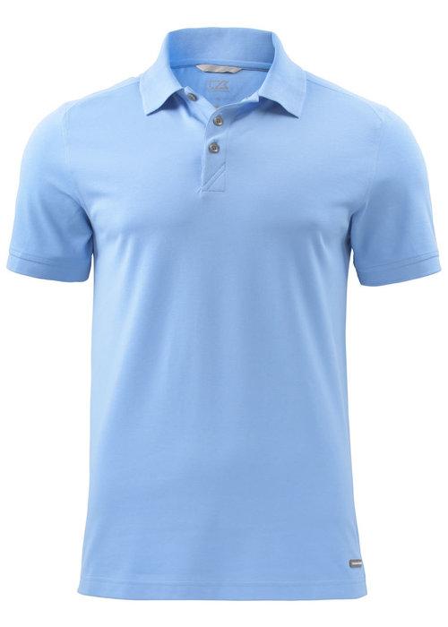 Cutter & Buck Advantage Heren Polo Lichtblauw