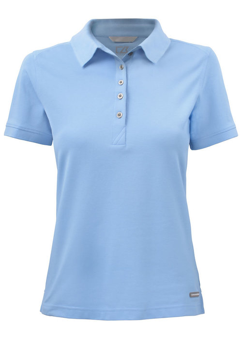 Cutter & Buck Advantage Dames Polo Lichtblauw