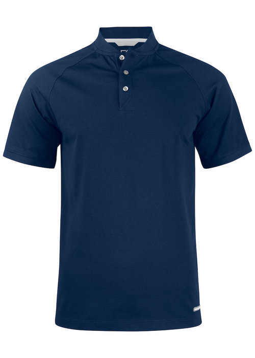 Cutter & Buck Advantage Stand-Up Collar Polo Dark Navy