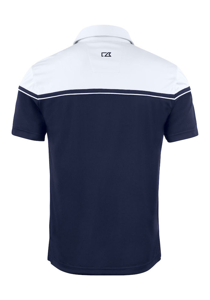 Seabeck Heren Polo Navy/Wit