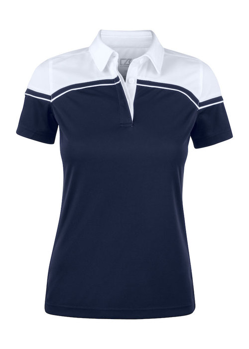 Cutter & Buck Seabeck Dames Polo Navy/Wit