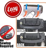 Stitchless Clip in, Easy Extensions Clips with hook