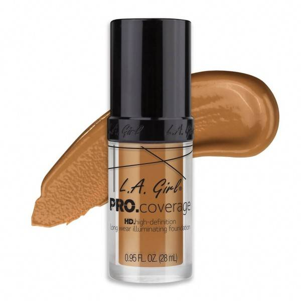 L.A. Girl L.A. Girl PRO Coverage HD Foundation - Bronze (GLM651)
