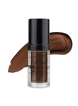 L.A. Girl L.A. Girl PRO Coverage HD Foundation - Dark Chocolate (GLM656)