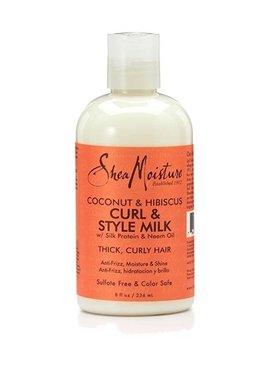 Shea Moisture Coconut & Hibiscus CURL & STYLE MILK (236ml)