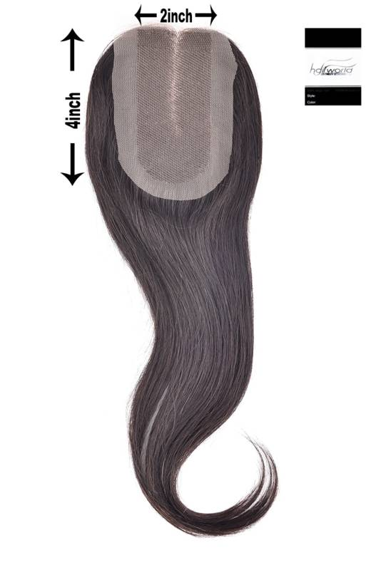 100% Virgin Hair Closure, 14 inch (Steil)