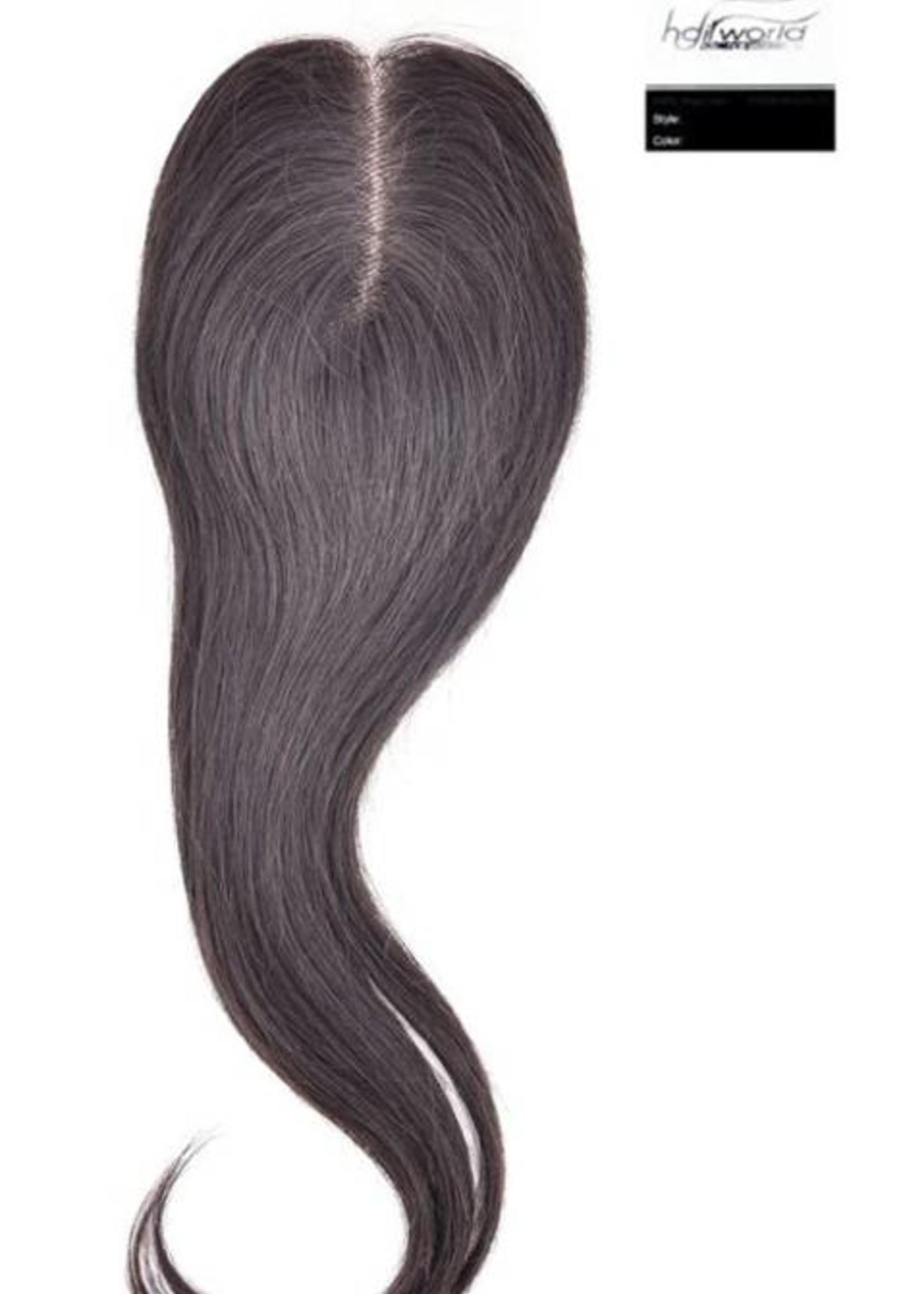100% Virgin Hair Closure, 14 inch (Steil)