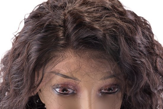 SHRI Indian (Shri) Human Hair Front Lace Wig (Body Wave)