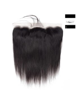 100% Virgin Hair Frontal (Steil)14 inch