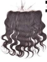 100% Virgin Hair Frontal (Body Wave) 14 inch