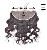 100% Virgin Hair Frontal (Body Wave) 14 inch