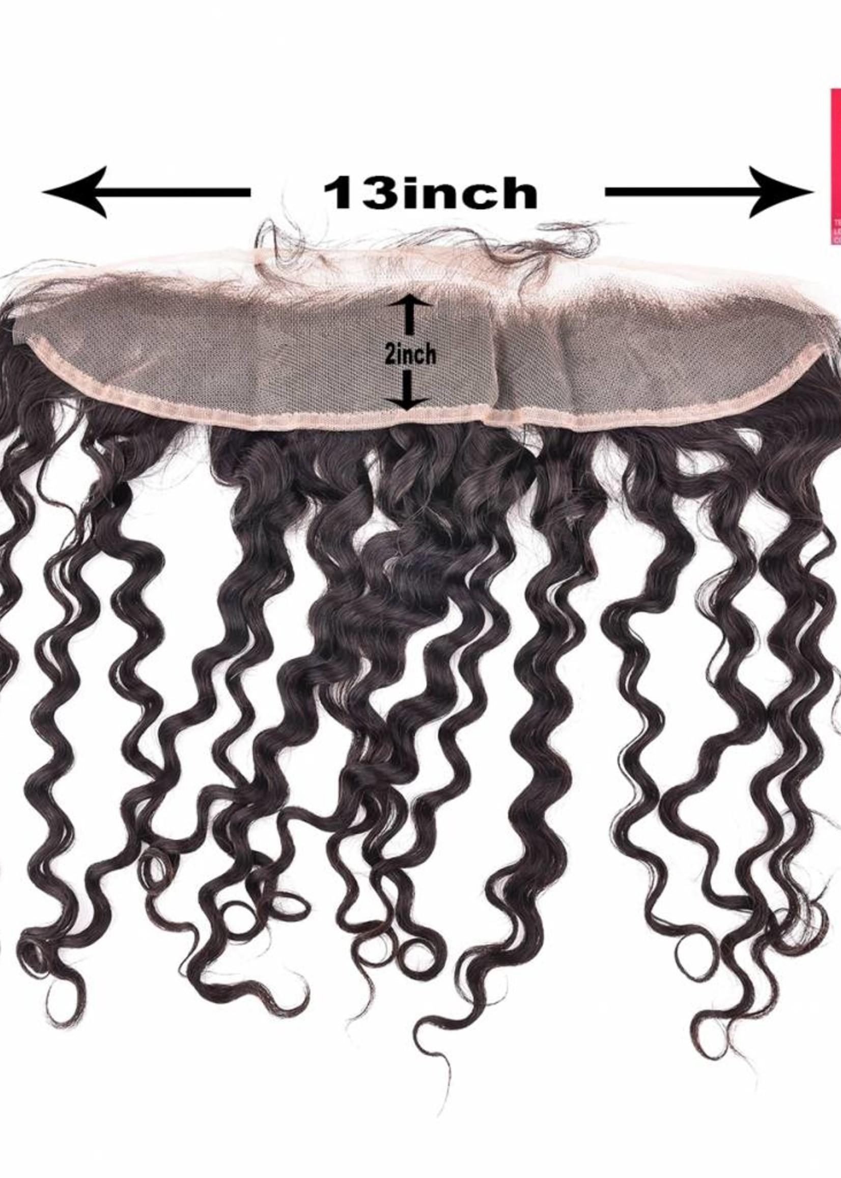 SHRI Indian (Shri) Human Hair Frontal (Deep Wave)