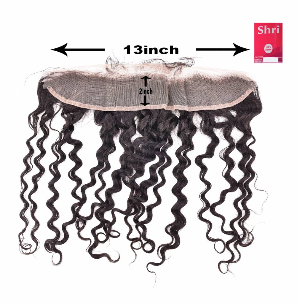 SHRI Indian (Shri) Human Hair Frontal (Deep Wave)