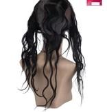 SHRI Indian (Shri) Human Hair 360º Frontal met Cap, 14 inch (Body Wave)