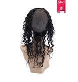 SHRI Indian (Shri) Human Hair 360º Frontal met Cap, 14 inch (Deep Wave)