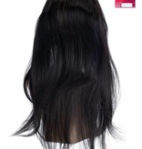 SHRI Indian (Shri) Human Hair 360º Frontal zonder Cap, 14 inch (Steil)