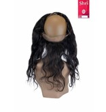 SHRI Indian (Shri) Human Hair 360º Frontal zonder Cap, 14 inch (Body Wave)