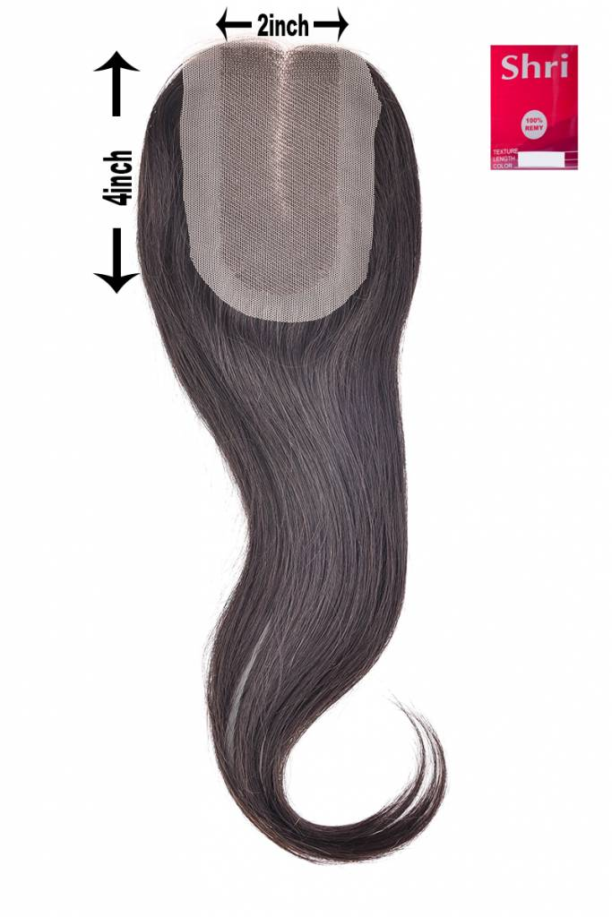 SHRI Indian (Shri) Human Hair Closure, 14 inch (Steil)