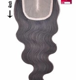 SHRI Indian (Shri) Human Hair Closure, 14 inch (Body Wave)