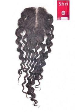 SHRI Indian (Shri) Human Hair Closure, 14 inch (Deep Wave)