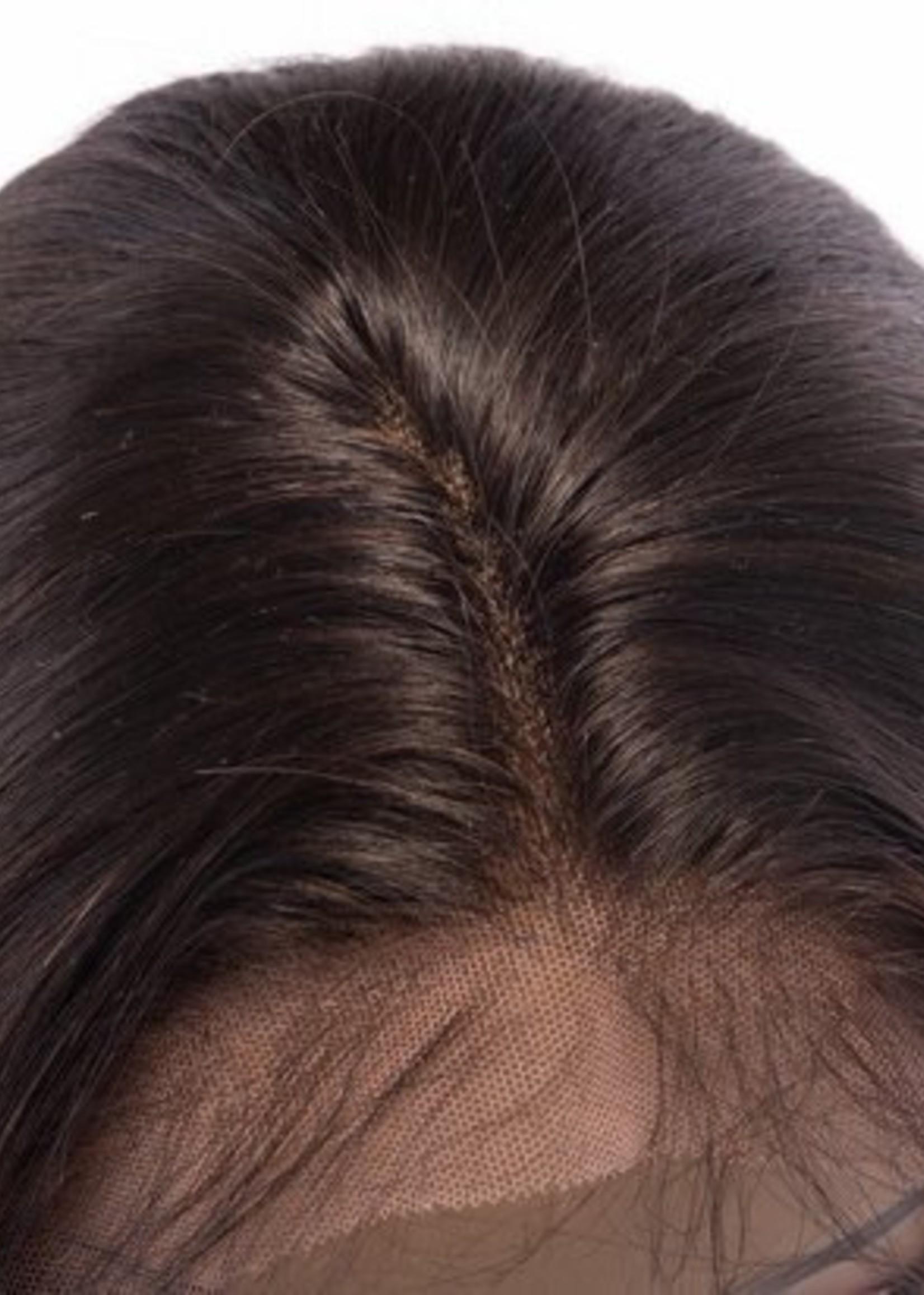 SHRI Indian (Shri) Human Hair Front Lace Wig (Steil)