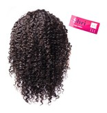 SHRI Indian (Shri) Human Hair Front Lace Wig (Jerry Curl)
