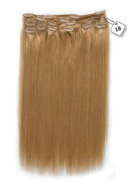 Clip in Extensions (Steil), kleur #18 Strawberry Blonde