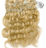 Clip in Extensions (Body Wave), kleur #613/27, Light Blonde/ Dark Blonde