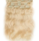 Clip in Extensions (Body Wave), kleur #613, Light Blonde