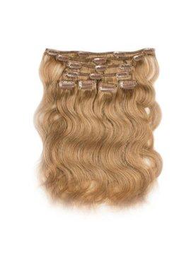 Clip in Extensions (Body Wave), kleur #27 Dark Blonde