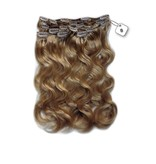 Clip in Extensions (Body Wave), kleur #8 Cinnamon