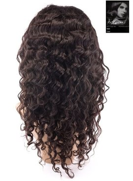100% Virgin Front Lace Wig (Deep Wave)