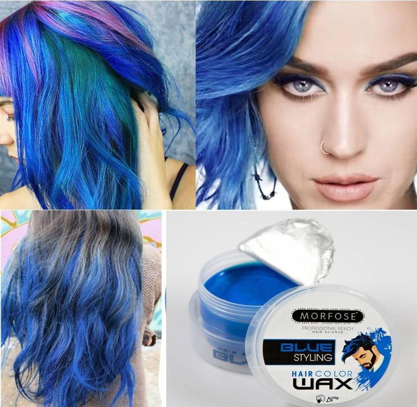 Morfose Morfose Haircolorwax - Blue 100ml