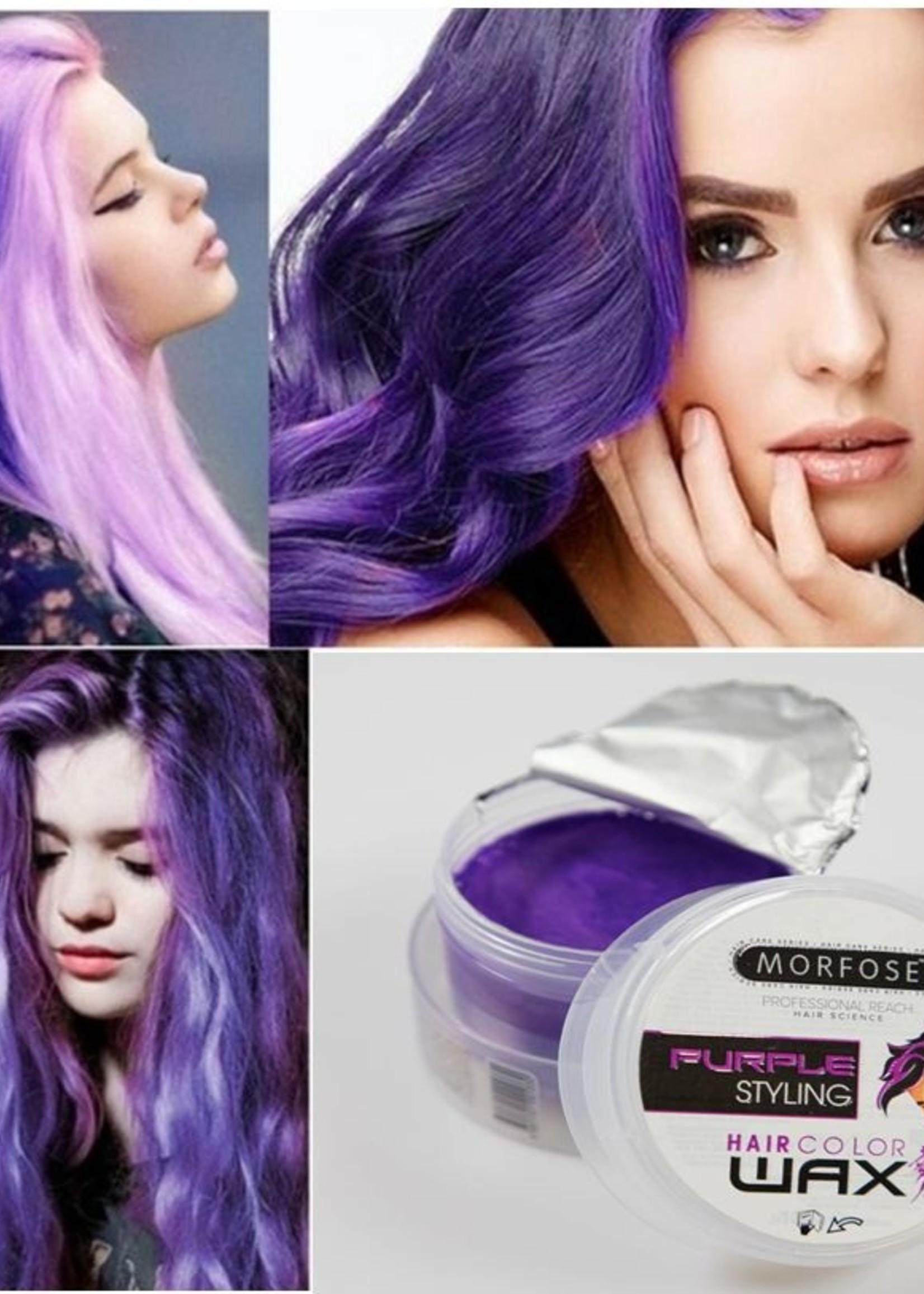 Morfose Morfose Haircolorwax - Purple 100ml