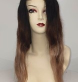 Human Hair Front Lace Wig -  (Steil) Ombre