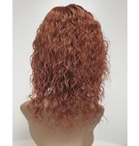 Human Hair Front Lace Wig -  ( Curly)