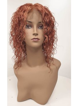 Human Hair Front Lace Wig -  (Curly)