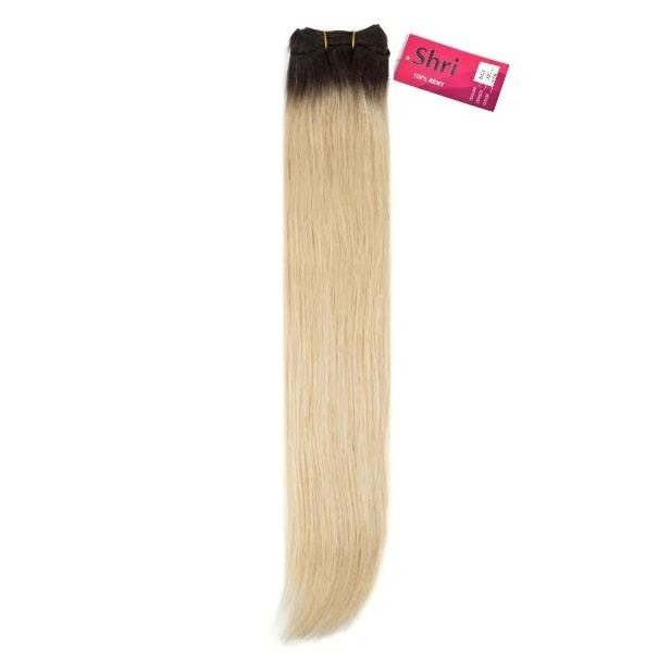 SHRI Indian (Shri) Ombre Hair weave (Steil) Kleur 1B/613