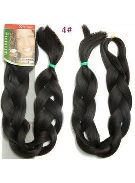 X-pression X-Pression Ultra Braid 100% Kanekalon Color 4