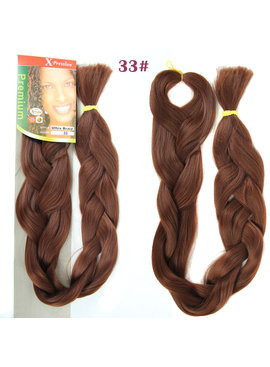 X-pression X-Pression Ultra Braid 100% Kanekalon Color 33