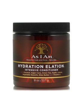 As I Am AS I AM – NATURALLY HYDRATION ELATION INTENSIVE CONDITIONER 8OZ