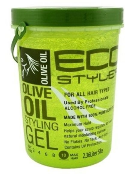 Eco Styler Professional ECO STYLER PROFESSIONAL – STYLING GEL OLIVE OIL MAX HOLD 5 LBS - 2.36 LITERS
