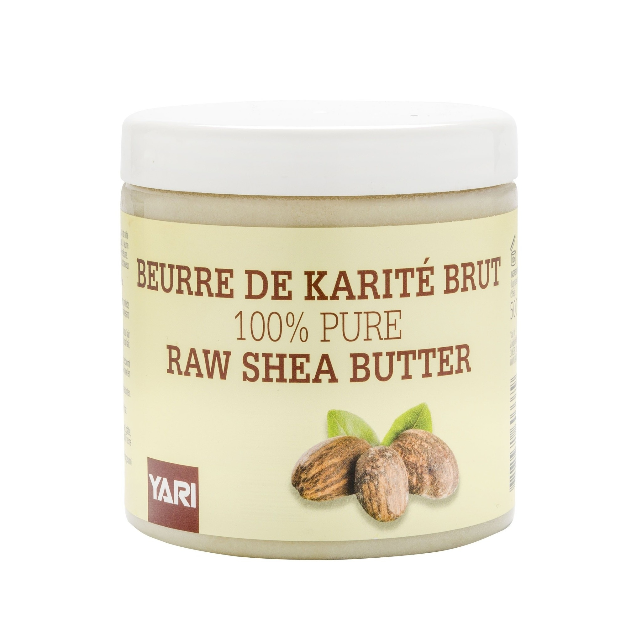 Yari YARI - 100% PURE RAW SHEA BUTTER 500ML