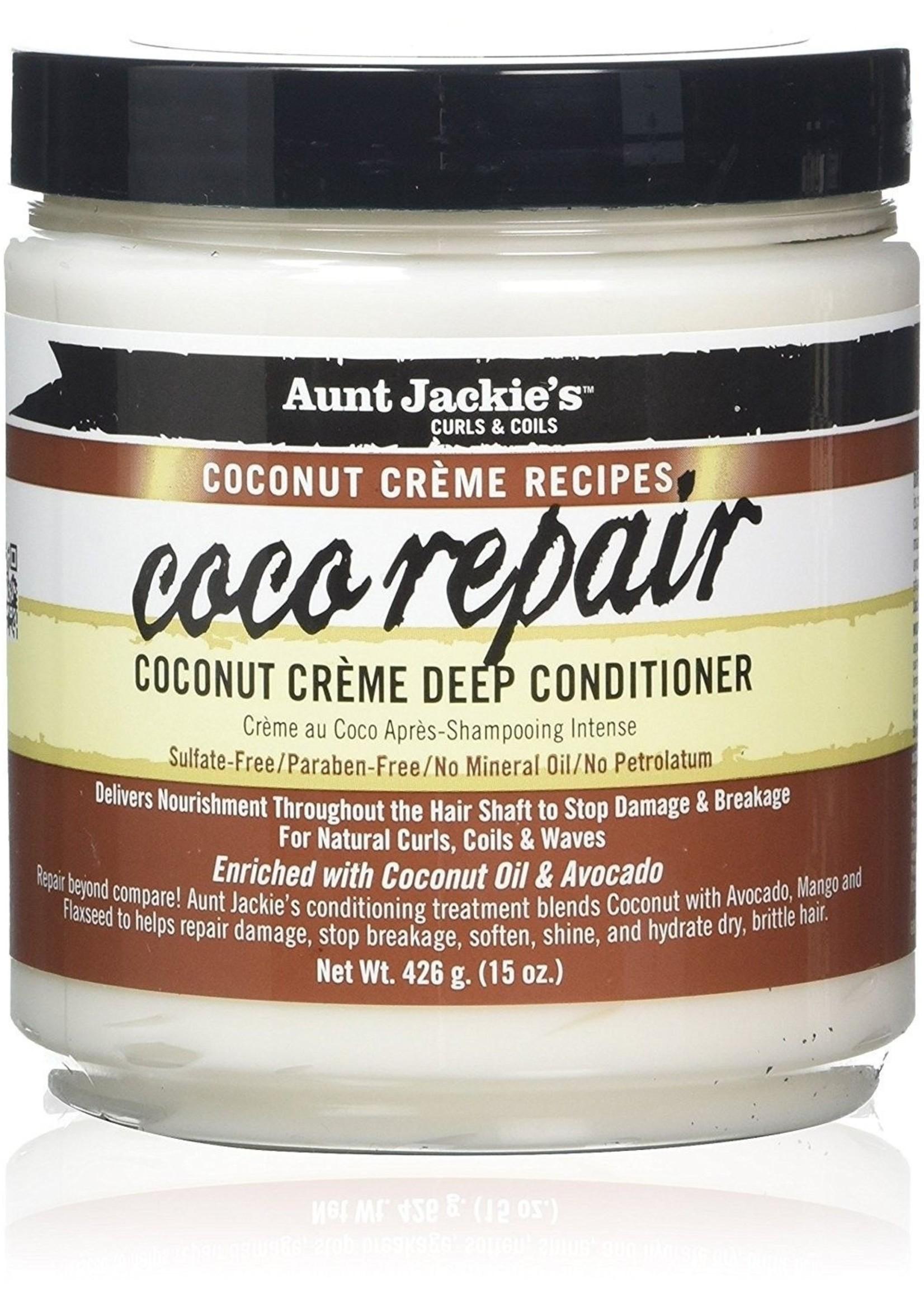 Aunt Jackie's Curls & Coils AUNT JACKIE'S - COCO REPAIR DEEP CONDITIONER 443ML