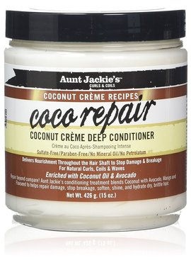 Aunt Jackie's Curls & Coils AUNT JACKIE'S - COCO REPAIR DEEP CONDITIONER 443ML