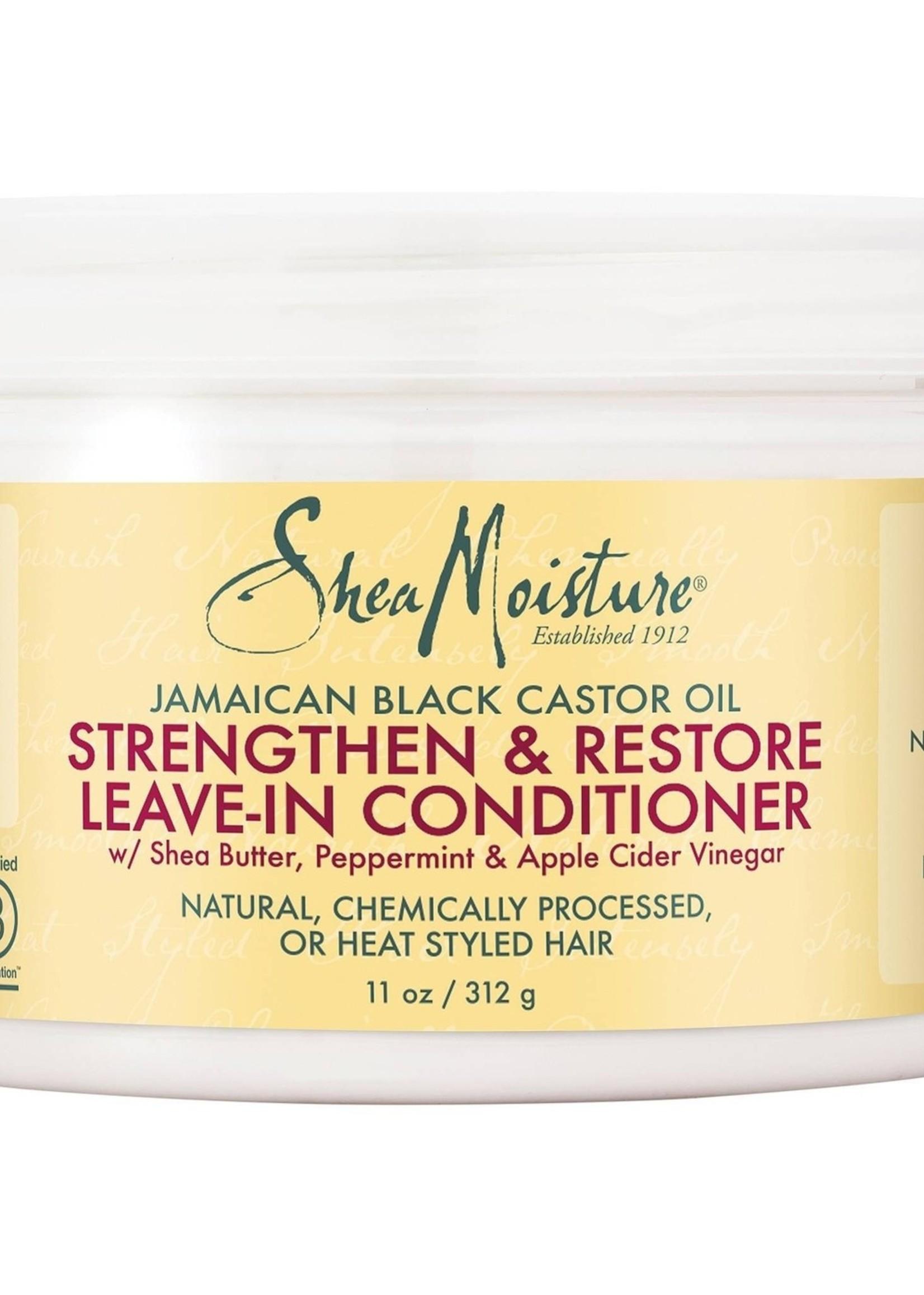Shea Moisture SHEA MOISTURE - JAMAICAN BLACK CASTOR OIL LEAVE IN CONDITIONER 11 OZ / 312 GR